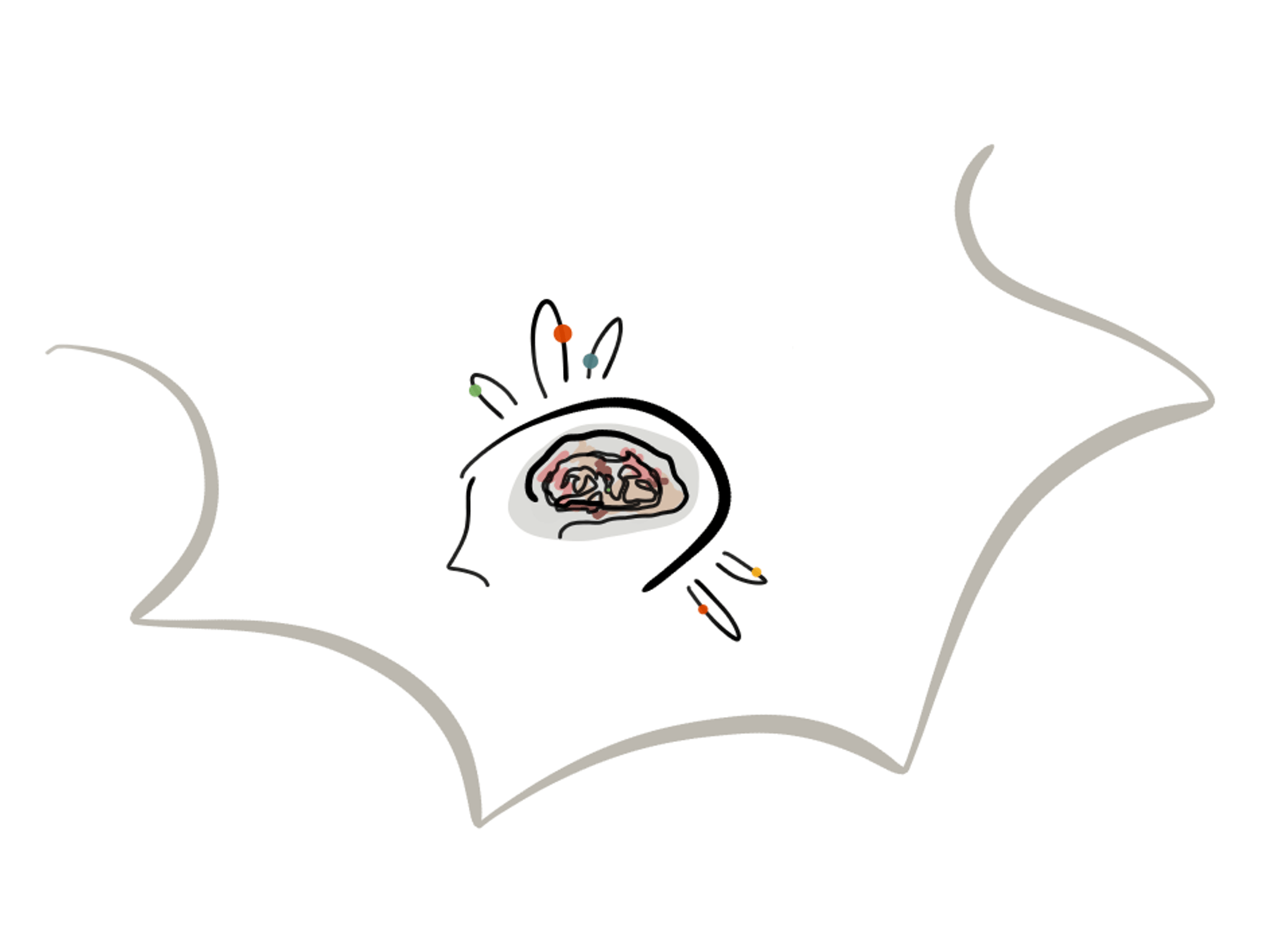 visuelles Brainstorming