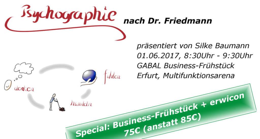 GABAL Business-Frühstück Psychographie