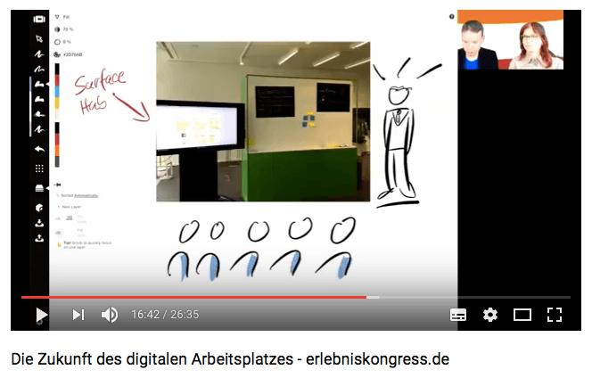 Mit Concepts visuell werden - mit dem digitalen Stift auf dem iPad wird es möglich