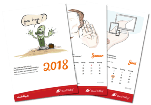 Der Visual Selling®-Kalender 2018