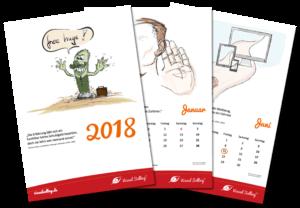 Der Visual Selling®-Kalender 2018