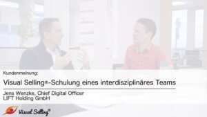 Visual Selling bei LIFT Holding GmbH - Interview mit Jens Wenzke, CDO