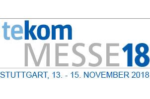 tekom Jahrestagung, 13.-15. November 2018, Stuttgart